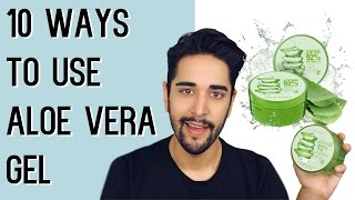 10 WAYS TO USE ALOE VERA GEL - Nature Republic (Grooming and Natural Skin Care) ✖ James Welsh