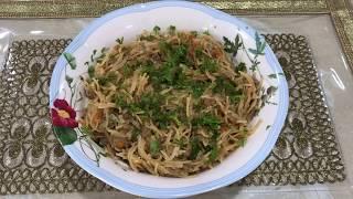 Keemey Wali Sevaiyan   Kheeme Ke Seviyan Recipe   Namkeen Sevaiyen Made By Seema Shaikh