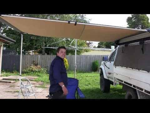 Tripn Com Au Ironman4x4 Awning Review Youtube