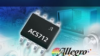 ACS712 Low-Noise 2100 VRMS Hall-Effect Current Sensor IC