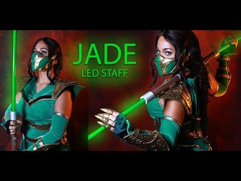 MK11 Jade's LED Staff Cosplay Prop Tutorial