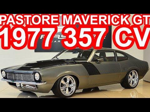 PASTORE Ford Maverick GT 302 V8 1977 2+2 aro 20 MT5 RWD 5.0 357 cv