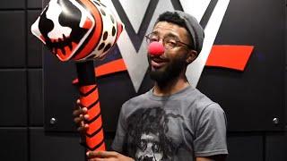 WWE Shop Bray Wyatt Holiday Box Unboxing with Josiah Williams
