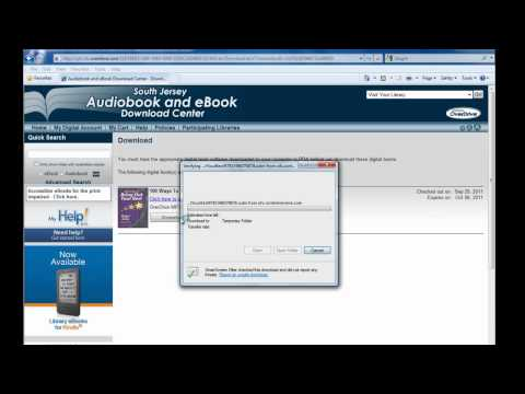 How to borrow MP3 audio books for the Kindle