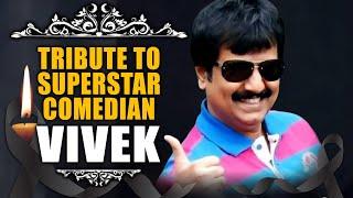 RIP Vivek Sir, Coração de partir | Homenagem ao Melhor Comediante do Sul, Vivek Ji