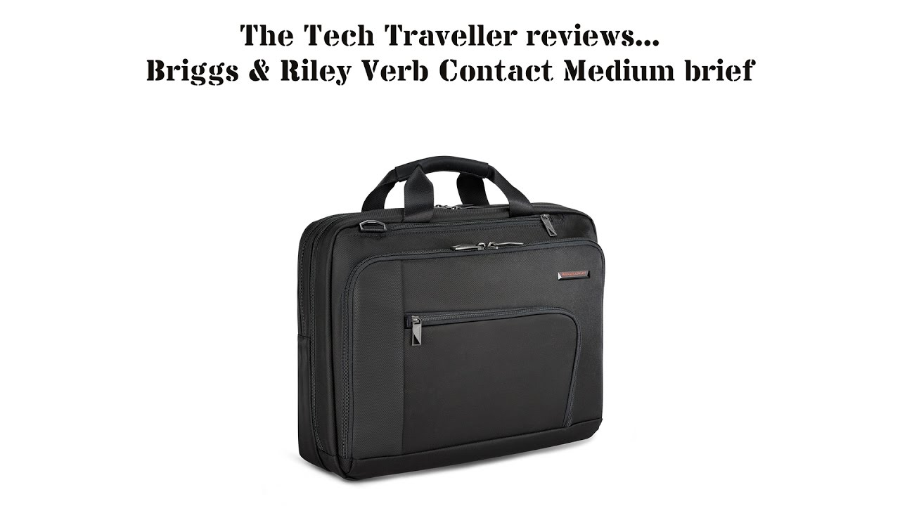 TTT Luggage Review  Briggs   Riley Verb Contact Medium Brief (VB200 ... fd362edeaf538