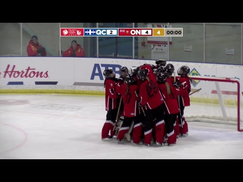2019 CWG - Ringette - Game 14 - QC Vs ON