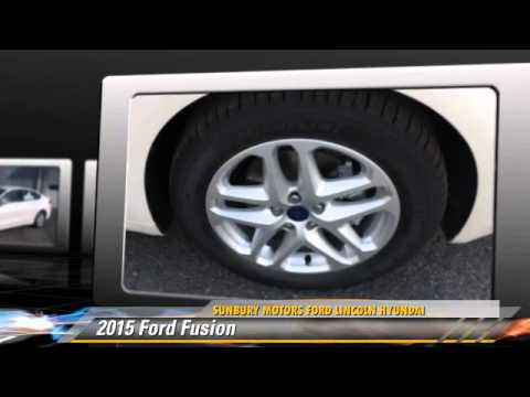 2015 Ford Fusion Sunbury Pa Fb987 Youtube