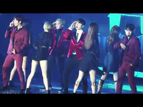20161226 Gayo Dajeon JYP Special Stage_SEVENTEEN VERNON Focus