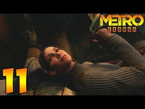 Metro Exodus. Прохождение. Часть 11 (Отдыхаем с Аней, слушаем все диалоги)