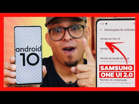 1º DO MUNDO! USANDO ONEUI 2.0, Android 10 da SAMSUNG! QUE RAPIDEZ!