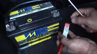 como instalar bateria auxiliar para som automotivo,e retirar os banco do carro ! passo a passo.