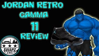 jordan retro gamma 11 review