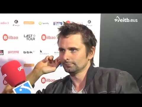 Matt Bellamy (Muse) Interview - Bilbao BBK Live 2015