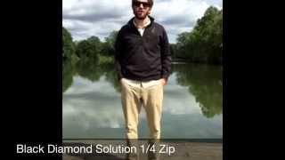 Black Diamond Solution 1/4 Zip For Men