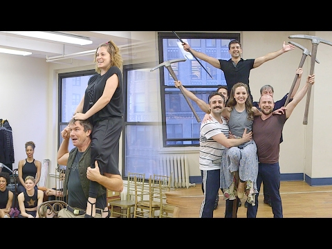 Tony Yazbeck, Laura Osnes, and More Preview Crazy For You's 25th Anniversary Concert