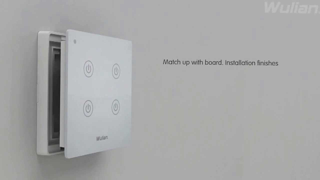 Home Automation- Wireless Wall Touch Switch English - YouTube