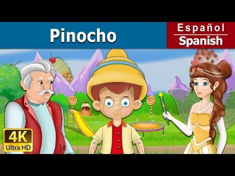 PINOCHO - cuentos de hadas españoles - Cuento infantil - 4K UHD - Spanish Fairy Tales