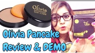 Olivia  Pancake Review & Demo - Most Affordable Makeup Base | JSuper Kaur