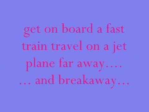 kelly clarkson lyrics to breakaway