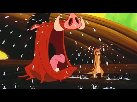 Король лев. Тимон и Пумба. Сезон 2 Серия 5 - Цыганское проклятие/ Потасовка в джунглях