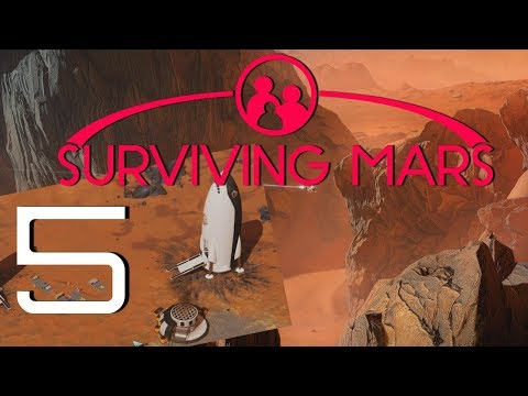 Let's Play Surviving Mars - Part 5 - Electronics are Bae