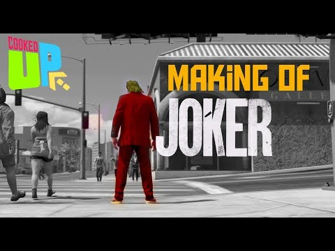 #Joker   GTA 5   Making Of Joker   Rockstar Editor   Director Mode   CookedUp