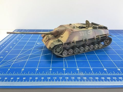 Building the Tamiya 1/35 Jagdpanzer IV L70 from start to fin