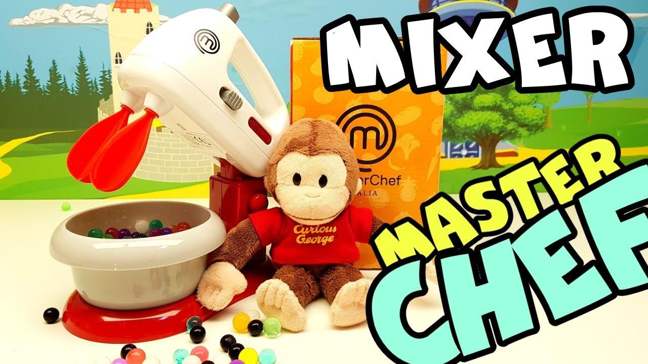 In CUCINA con GEORGE la scimmietta curiosa 🐒, Master Chef 👩🍳 Italia un super Mixer 🐵
