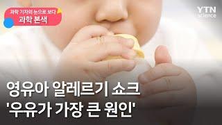 [과학본색②] 영유아 알레르기 쇼크 '우유가 가장 큰 …