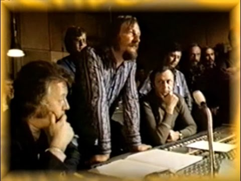 """James Last in Hamburg studio ´72 presents the album: ""JL in Russia""."