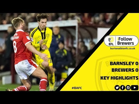 MATCH HIGHLIGHTS | Barnsley 0-0 Burton Albion