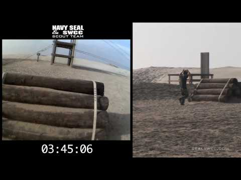 Navy SEAL BUD/S Training -  Obstacle Course Helmet Cam