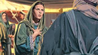 The boy Jesus answers the teachers' questions in the temple.
