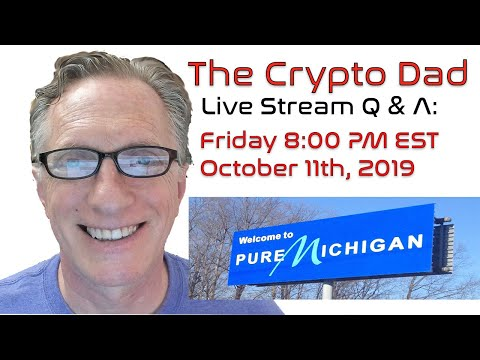 CryptoDad's Live Q. & A. Bitcoin News:  UN Children's Charity Now Accepting Bitcoin & Ethereum!