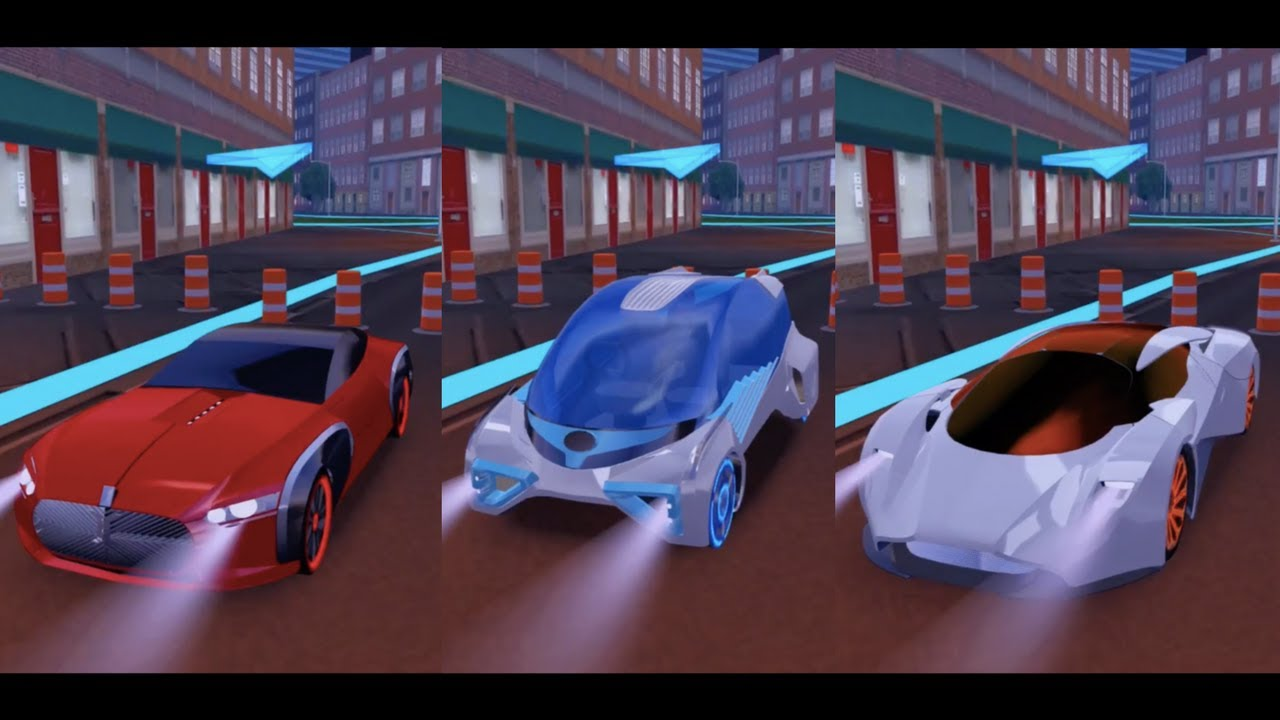 concept car driving simulator #11 (cars 1, 2 & 3) - android/ios