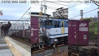 EF65 2095「JR貨物30周年」HM                 巛巛
