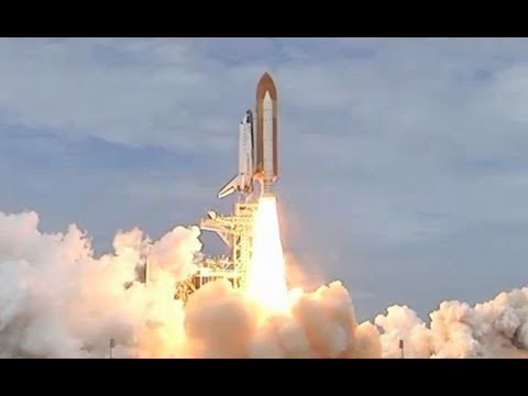 space shuttle taking off - photo #23