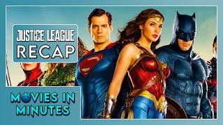 JUSTICE LEAGUE in 4 minutes (DC Universe Recap) [PREPARE FOR AQUAMAN]