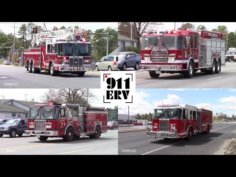 Multi-Mutual Aid Fire Response in Amherst, NH