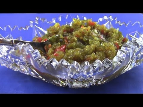 How to make and can sweet pickle relish