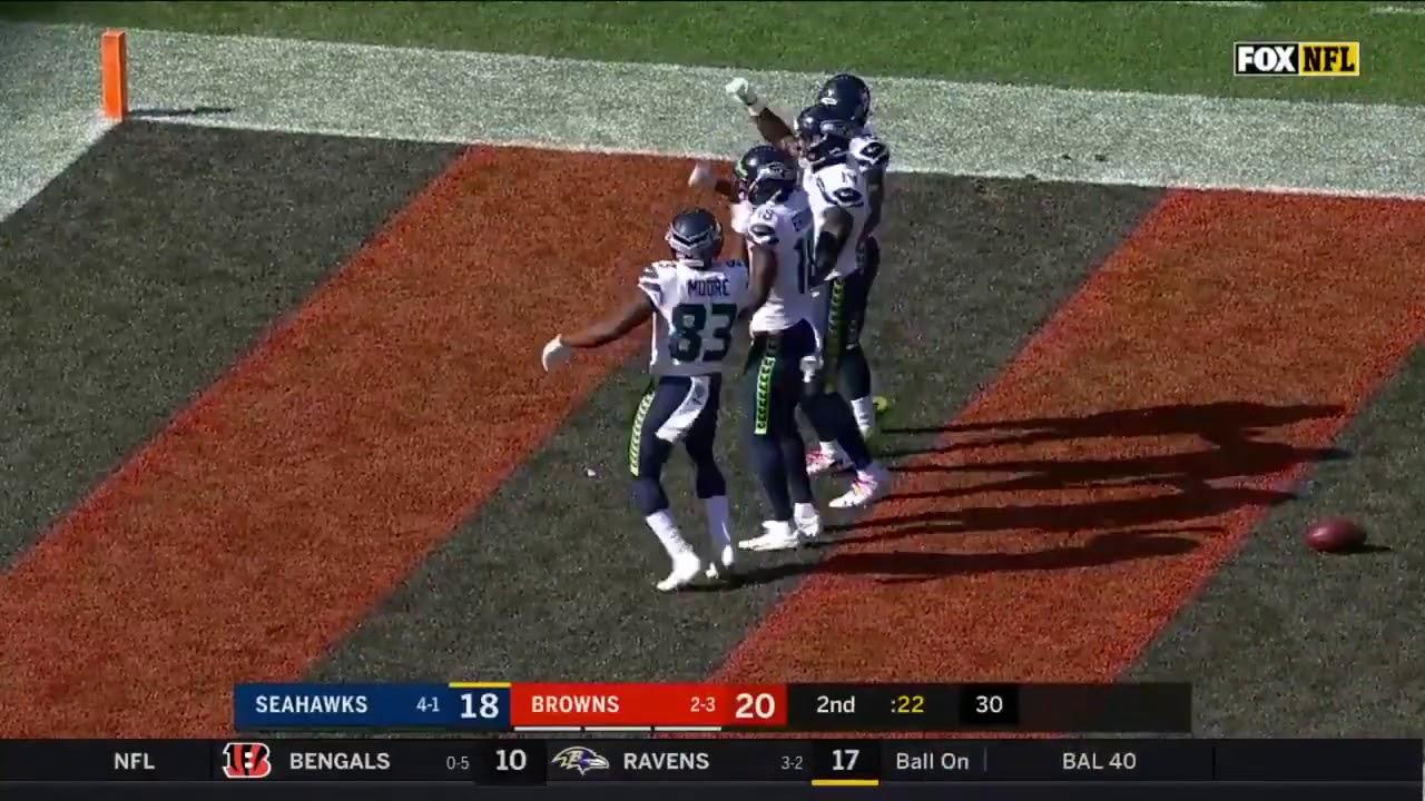 Seahawks Bye Bye Bye Touchdown Celebration Seahawks Vs Browns