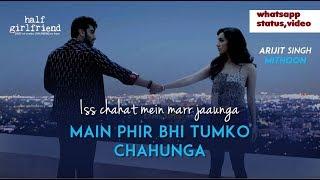 Download lagu phir bhi tumko chahunga MP3