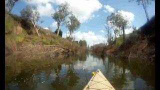 Kayak Bass Fishing Lockyer Creek