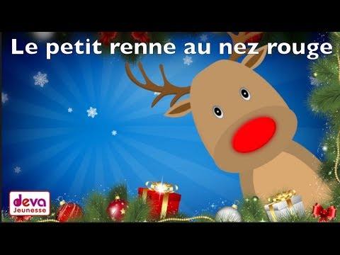 Le petit renne au nez rouge (Chanson de noël avec paroles)ⒹⒺⓋⒶ Noël des enfants