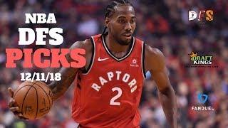 12/11/18 NBA DFS Picks