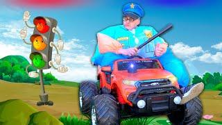 We spelen de politie - slechte chauffeurs