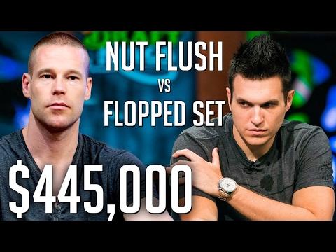 $445,000 Pot Against Patrik Antonius And I FLOPPED A SET