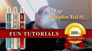 E-Zigarette - Mein Einstieg und warum ich es gut finde - Dampfen Teil 1