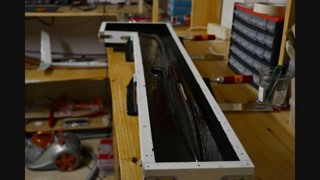 how make mold of rc sailplane comment fabriquer un moule. Black Bedroom Furniture Sets. Home Design Ideas